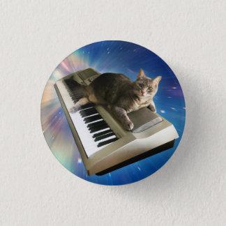 Bóton Redondo 2.54cm teclado do gato