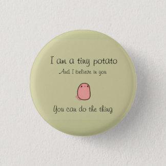 Bóton Redondo 2.54cm Tiny potato button