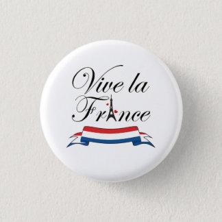 Bóton Redondo 2.54cm Tipografia de France do la de Vive