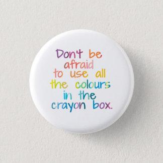 Bóton Redondo 2.54cm Todas as cores na caixa do pastel