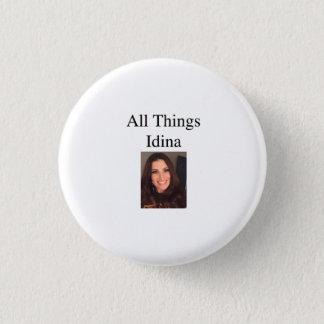 Bóton Redondo 2.54cm Todo o botão da imagem de Idina das coisas