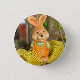 Bóton Redondo 2.54cm Trinket brilhante do coelho da páscoa