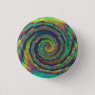 Bóton Redondo 2.54cm Uma explosão místico das cores