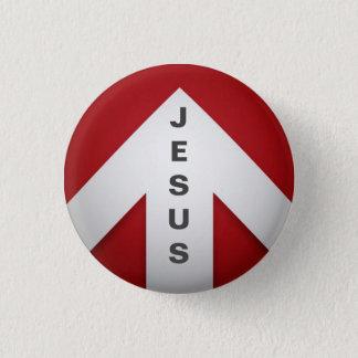 Bóton Redondo 2.54cm Uma maneira - Jesus