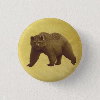 Bóton Redondo 2.54cm Urso de urso