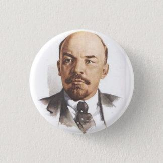 Bóton Redondo 2.54cm V.I. Pin de Lenin