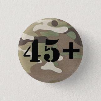 Bóton Redondo 2.54cm Veteranos para a independência 2,0 45+ Crachá