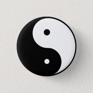 Bóton Redondo 2.54cm ying & Yang