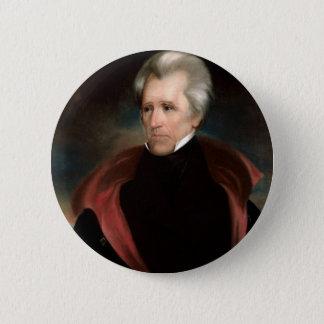 Bóton Redondo 5.08cm 07 Andrew Jackson