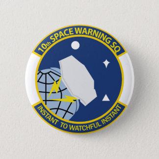 Bóton Redondo 5.08cm 10o Esquadrão de advertência do espaço