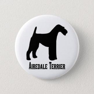 Bóton Redondo 5.08cm 1415112006 Airedale Terrier (Animales)