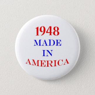 Bóton Redondo 5.08cm 1948 fez em América