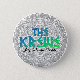 Bóton Redondo 5.08cm 2012 botão do MAYA de Krewe - edição limitada