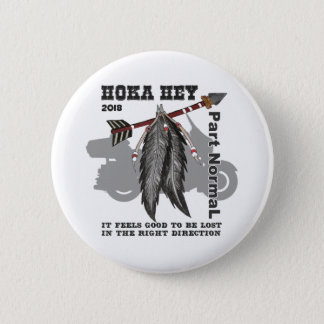 "Bóton Redondo 5.08cm 2 1/4"" botão redondo - apoio normal de Hoka da"