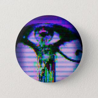 """Bóton Redondo 5.08cm 2,25"""" botão do olho do pulso aleatório"""