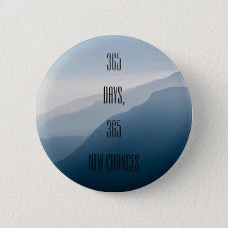 Bóton Redondo 5.08cm 365 dias inspiradores minimalistas 365