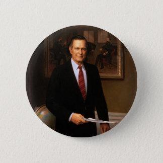 Bóton Redondo 5.08cm 41 George H.W. Bush