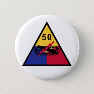 Bóton Redondo 5.08cm 50th Divisão blindada