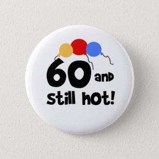 Bóton Redondo 5.08cm 60 e ainda 60th aniversário quente