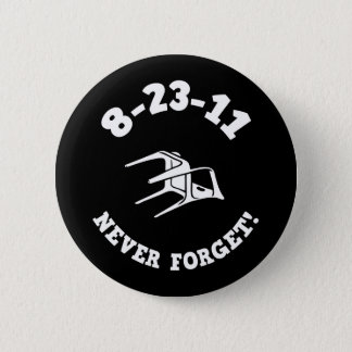 Bóton Redondo 5.08cm 8-23-11 nunca esqueça!