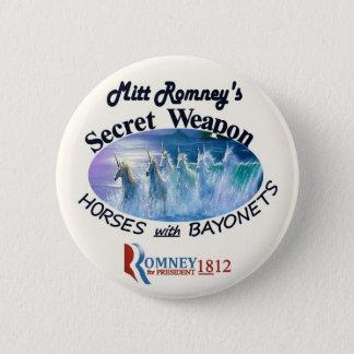 Bóton Redondo 5.08cm A arma secreta de Mitt Romney