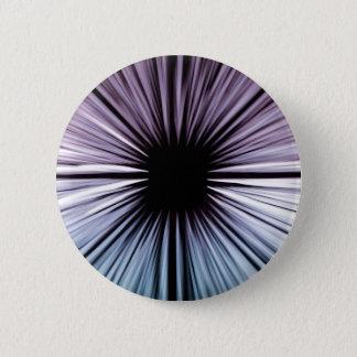 Bóton Redondo 5.08cm A arte bonita divina irradia a forma da alegria