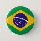 Bóton Redondo 5.08cm A bandeira de Brasil Bandeira faz Brasil