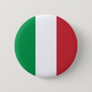 Bóton Redondo 5.08cm A bandeira de Italia