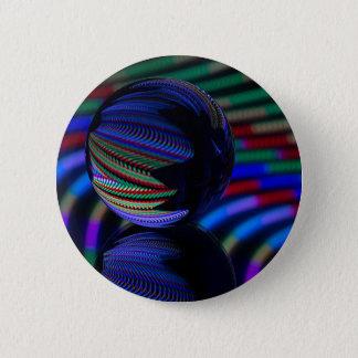 Bóton Redondo 5.08cm A bola reflete 3