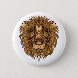 Bóton Redondo 5.08cm A cabeça do leão