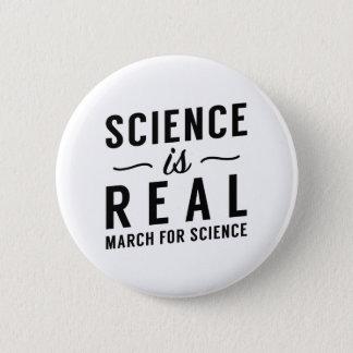 Bóton Redondo 5.08cm A ciência é real