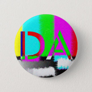 Bóton Redondo 5.08cm A Dinamarca colore o botão da estática da
