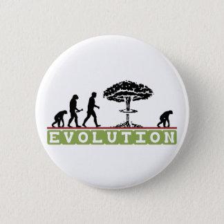 Bóton Redondo 5.08cm A evolução engraçada evolui