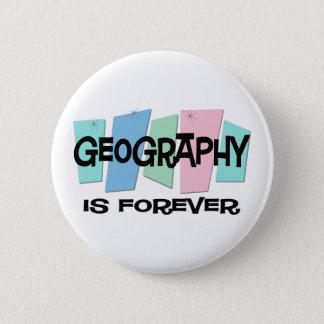 Bóton Redondo 5.08cm A geografia é Forever