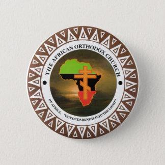 Bóton Redondo 5.08cm A igreja ortodoxa africana de África