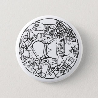 Bóton Redondo 5.08cm A lua - botão de surpresa de México