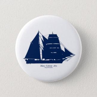 Bóton Redondo 5.08cm A Mary Celeste 1872 por fernandes tony