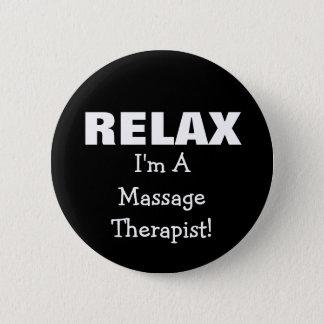 Bóton Redondo 5.08cm A massagem relaxa (customizável)
