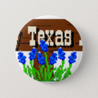 Bóton Redondo 5.08cm A minhas raizes de Texas