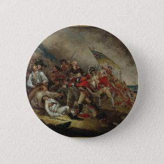 Bóton Redondo 5.08cm A morte do monte de depósito do general Warren