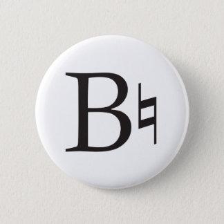 Bóton Redondo 5.08cm A música natural de B seja natural
