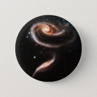 Bóton Redondo 5.08cm A nebulosa de interação da galáxia de duas
