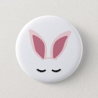 Bóton Redondo 5.08cm A orelha do coelho chicoteia o Pin