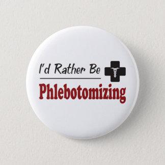 Bóton Redondo 5.08cm A preferencialmente Phlebotomizing