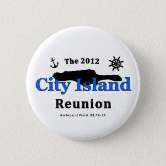 Bóton Redondo 5.08cm A reunião 2012 da ilha da cidade
