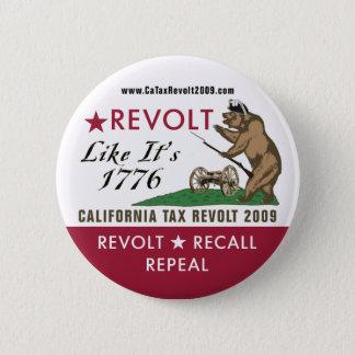 Bóton Redondo 5.08cm A revolta como ela é o botão 1776