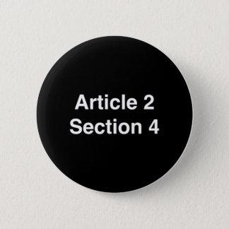 Bóton Redondo 5.08cm A seção 4 do artigo 2 - ACUSE