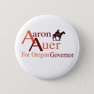 Bóton Redondo 5.08cm Aaron Auer para o pino do governador de Oregon