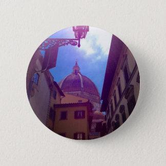 Bóton Redondo 5.08cm Abóbada de Brunelleschi em Florença, Italia
