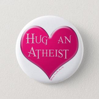 Bóton Redondo 5.08cm Abrace um ateu